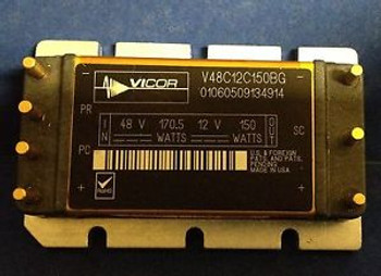 New Vicor DC/DC Power Converter # V48C12C150BG~ 12v 150W