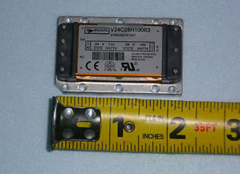 1 brand new VICOR (V24C12H100B3) POWER CONVERTER 24V Input 12V Output 100W DC/DC