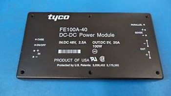 TYCO FE100A-40 DC-DC POWER MODULE IN:DC 48V 2.5A OUT:DC 5V 20A - CASE OF 24