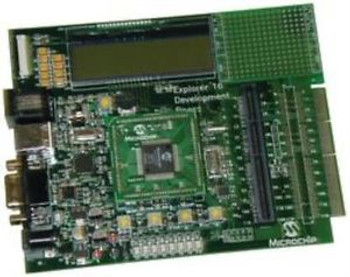 04M6008 Microchip Dm240001 Eval Brd Explorer 16 Development Board