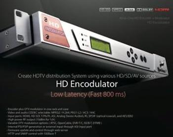 LUMANTEK HD Encodulator - HD/SD Encoder and RF Modulator --- NEW