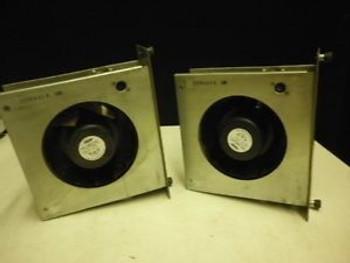 (2) Encased APW Mclean Model DB628-2418S15 Fan 24VDC