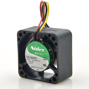 Nidec TA150DC C34955-57 Fan 40*40*28mm 0.20A 3pin