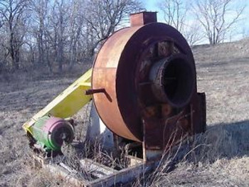 Northern Blower centrifugal FAN with 50HP motor for 8x24 rotary drum dryer