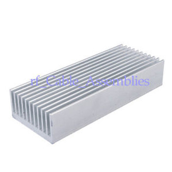 10High Quality Aluminum Heat Sink for Electronics Computer Electric 100x40x20mm