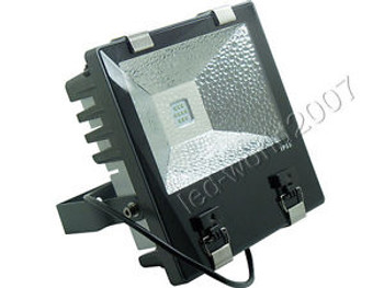 100W High Power LED Flood Light Aluminium Heatsink Waterproof 3D Cube Cooling