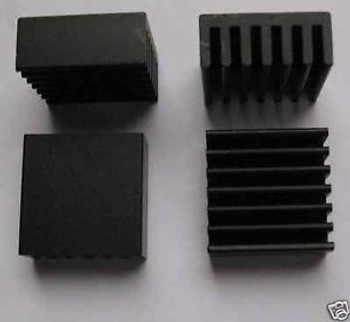 1000 Extruded AL Heatsinks 0.9x0.9x0.39