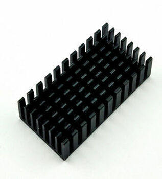 100pcs502510MM 50x25x10mm  Aluminum Heatsink IC Radiator ?XYZ 05