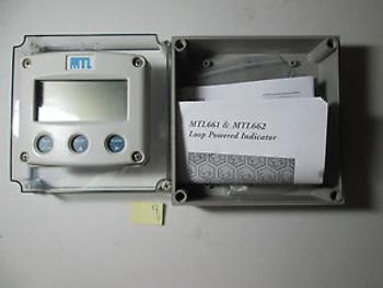 NEW NO BOX MTL 662 MTL662 LOOP POWERED INDICATOR 4-20 mA  (WL61)