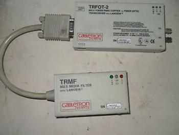 (O2-1) 1 CABLETRON SYSTEMS TRFOT-2 TRMF TRANSCEIVER