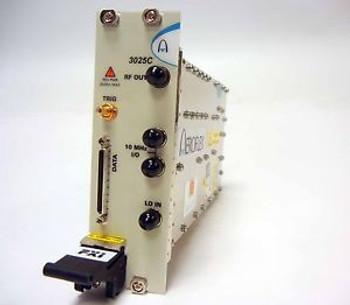 AEROFLEX 3025C PXI DIGITAL RF SIGNAL GENERATOR 1 MHz - 6 GHz FITTED W/3 OPTIONS
