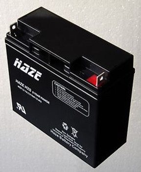 HAZE HZS12-18 Valve Regulated Lead Acid Battery (12 Volt 18 Ah) HZS 5 Year Range