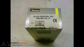 PARKER 7122KBN2LF00N0D100C2 FLUID CONTROL VALVE 24 V DC 10W NEW