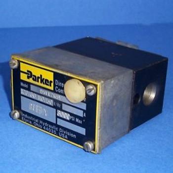 PARKER 110/120V 50/60HZ 3000 PSI HYDRAULIC DIRECTIONAL CONTROL VALVE D1VW2K5Y