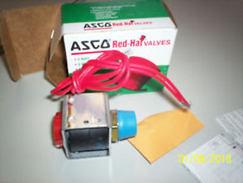 Asco Red-Hat FV174986 12.4 Watts Solenoid Valve 125 PSI