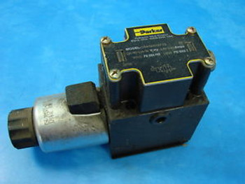 New Parker Hydraulics Direct Control Solenoid Valve D3W5ENYKFZ6 120/60-110/50V