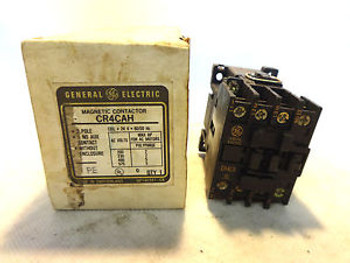 NEW GE GENERAL ELECTRIC CR4CAH MAGNETIC CONTACTOR
