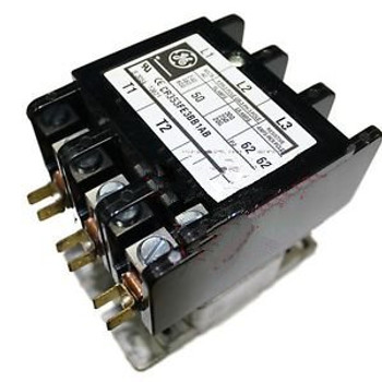 MARS 13621 GE CR353FE3BB1AB 3 POLE 50AMP 208-240 VOLT 50/60HZ COIL CONTACTOR