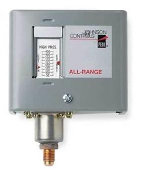 JOHNSON CONTROLS P170AB-12C Pressure Control 12 In to 80