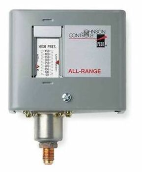 JOHNSON CONTROLS P170AB-2C Pressure Control 20 In to 100