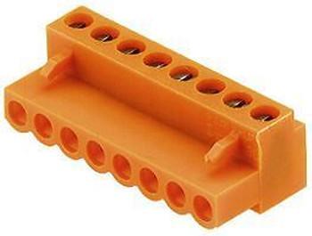 WEIDMULLER 1716360000 TERMINAL BLOCK PLUGGABLE, 6POS, 26-14AWG (100 pieces)