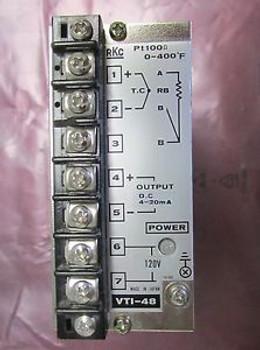RKC VTI 48 Pt 100 Ohm Power Supply VTI-48
