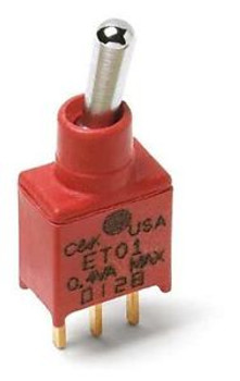Toggle Switches ON-OFF-ON SPDT PC (50 pieces)
