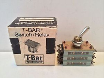 NEW T-BAR INC TOGGLE SWITCH / RELAY 802-36C 80236C