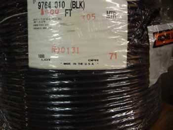 Belden Coaxial Cable 9764-010-Blk