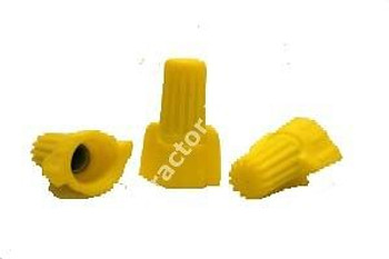 1 CASE 5000 PC WIRE NUTS YELLOW WINGED (P11)