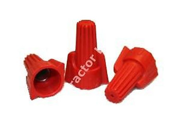 1 CASE 5000 PC WIRE NUTS RED WINGED (P13)
