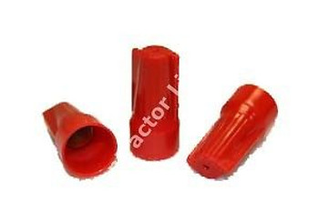1 CASE 5000 PC WIRE NUTS RED EASY CAP (N2)