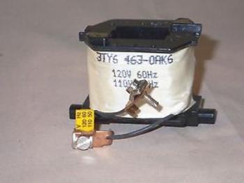 SIEMENS 3TY6463-0AK6 110/120V coil (NOS)