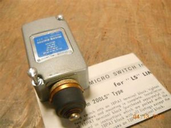 Microswitch (202LS111) Limit Switch New Surplus in Original Box