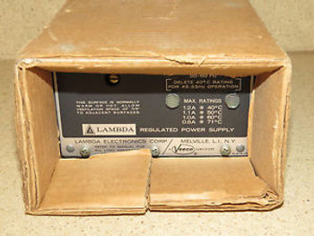 LAMBDA LM-219   REGULATED POWER SUPPLY - NEW IN BOX