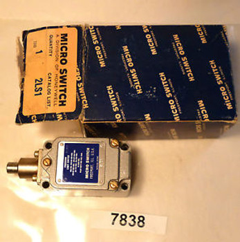 (7838) Micro Switch Limit Switch 2LS1 Top Plunger 10A 120/240/480