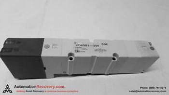 SMC VQ4501-5W SOLENOID VALVE NEW