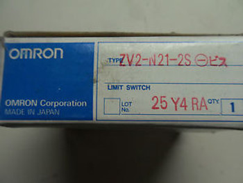 (R1-1) 1 NEW OMRON ZV2-N21-2S LIMIT SWITCH