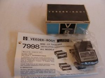 1509 New In Box Veeder-Root 799806-211 Mini-LX Totalizer Meter