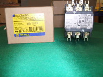Lot of (4) Square D Contactor 8910 DPA13 V14 600V