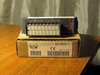 Koyo PLC Automation Direct D3-08TA-1 D308TA1 AC Output