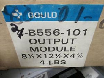 Gould Modicon Output Module AS-B556-101