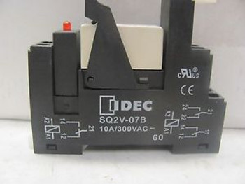 Lot Of (22) Idec SQ2V-07B Relay Base New