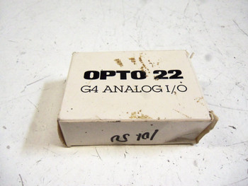 OPTO 22 G4 AD4 I/O ANALOG MODULE NEW IN BOX