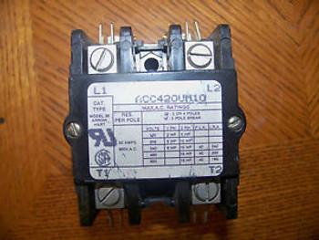 Cutler Hammer 9560H1565-49 contactor 75amp 104-120V coil