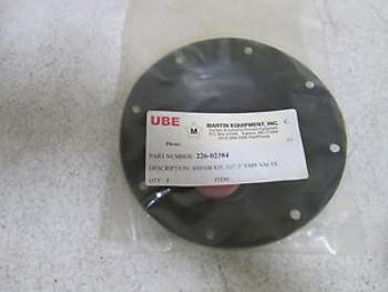 UBE REPAIR KIT, 1-1/2 / 2 UMV VALVE 226-02384 NEW IN BAG