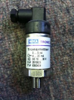 Wika Tronic Line Pressure Transmitter 891.14.540