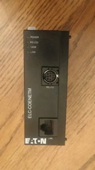 NEW CONDITION  - EATON - ELC-COENETM - 24Vdc - ETHERNET MODULE - OUT OF BOX