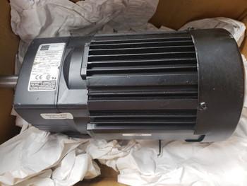 Bodine 1/2hp 48R6BFPP-F3 0642 3phase AC gearmotor 230/460v 85rpm Reversible