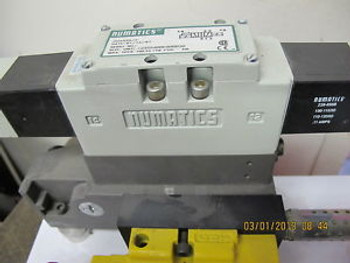 Numatics ISO5599/2 Pneumatic Valve Assembly I23SS400K000030 100/120/50/60 Soleno